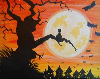 Paint, Drink and be Scary