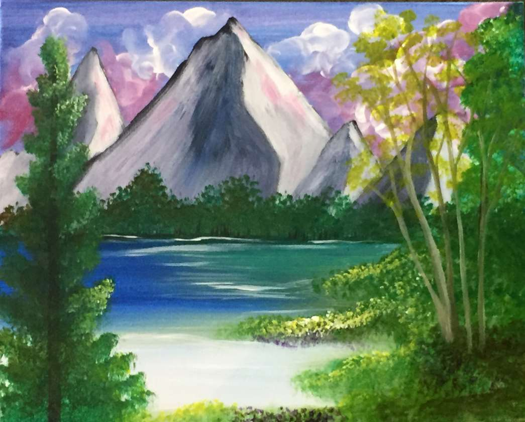 Paint It Like A Ross - In Studio Event - Limited Seating Available