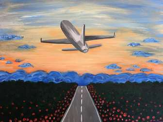 Paint, Planes, and Pinot