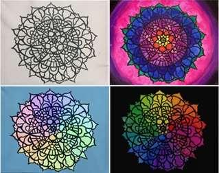 Paint Your Own Mandala