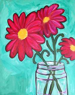 Painted Daisies of Summer