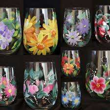 Paint Your Own Glassware