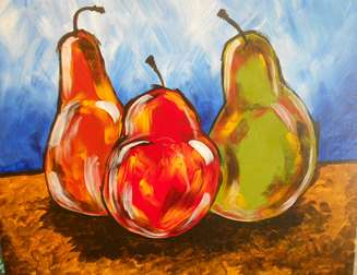 Painterly Pears