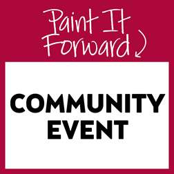 Painting it Forward Community Event