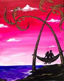 Palm Crossed Lovers