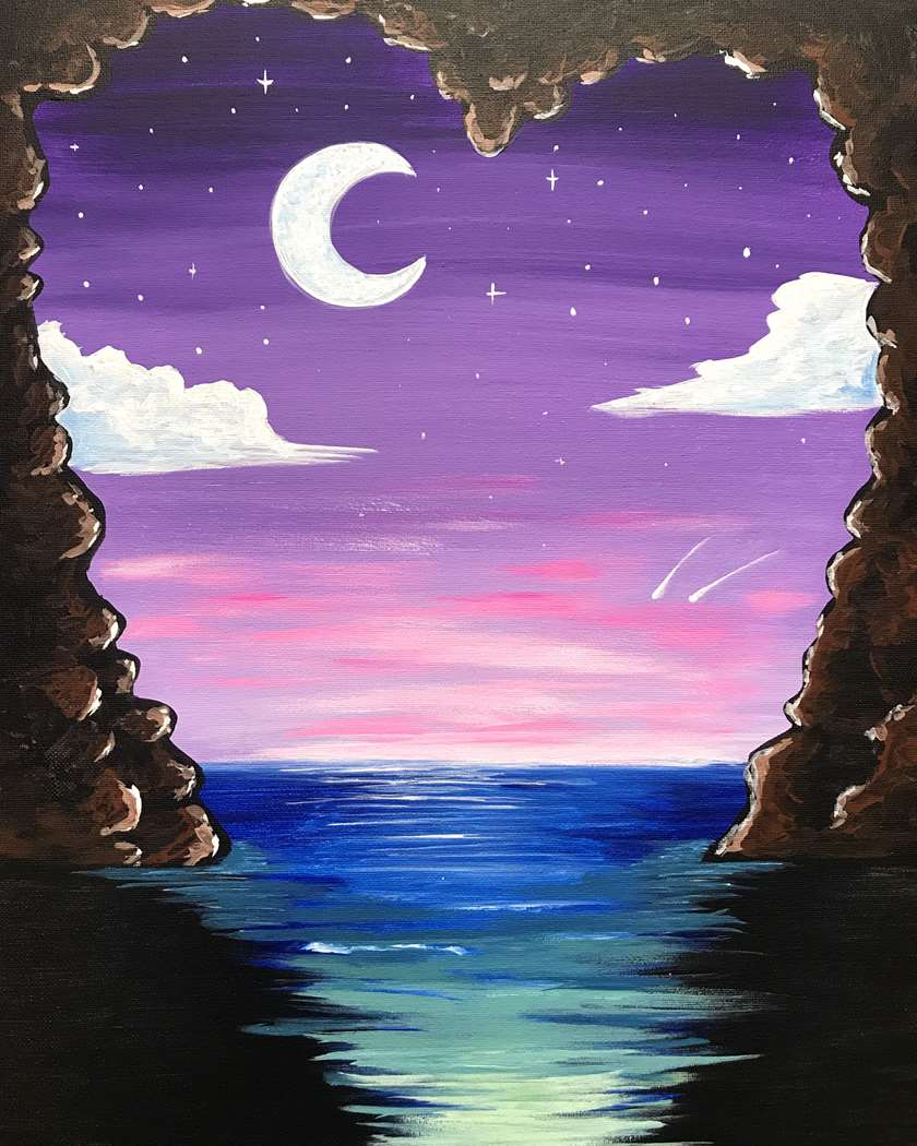 Paradise Cove at Midnight