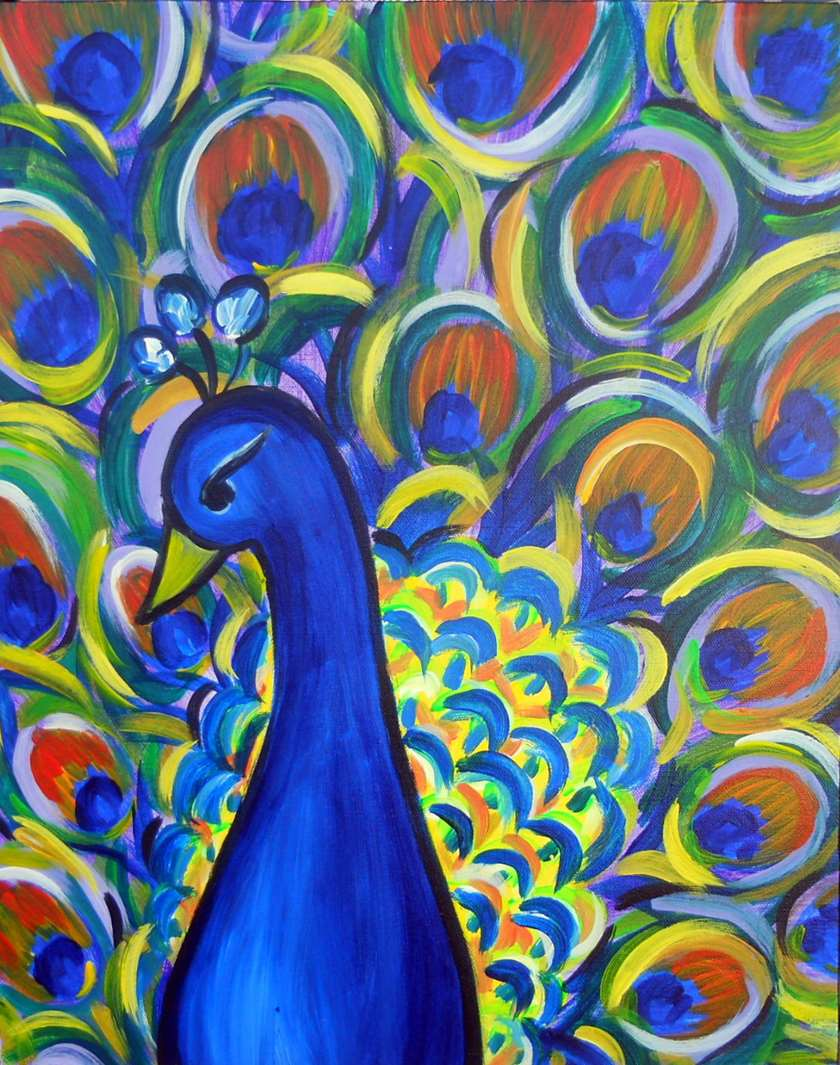 Party Peacock