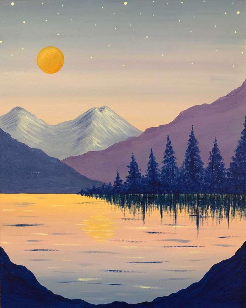 Pastel Lake