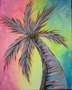 Pastel Palm