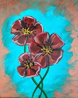 Patina Poppies