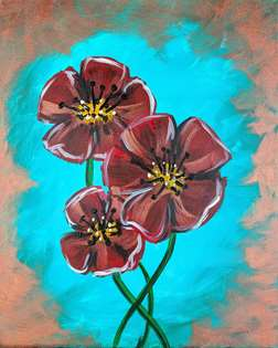 Patina Poppies