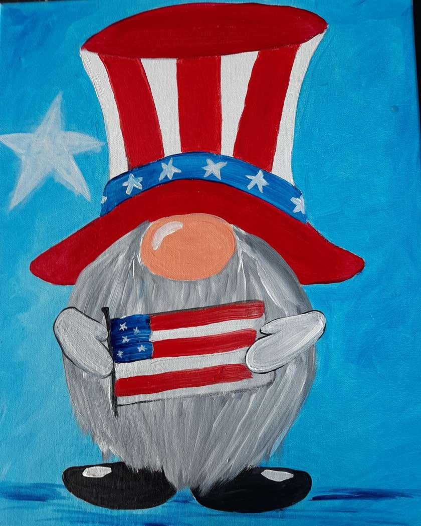 """""""Patriotic Gnome"""""""