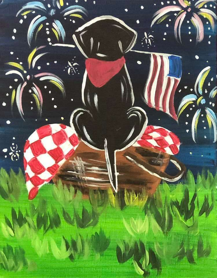 In-Studio event - Patriotic Pup (all ages) - limited seating