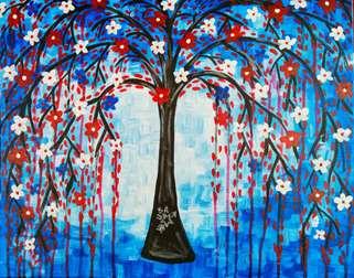 Patriotic Willow