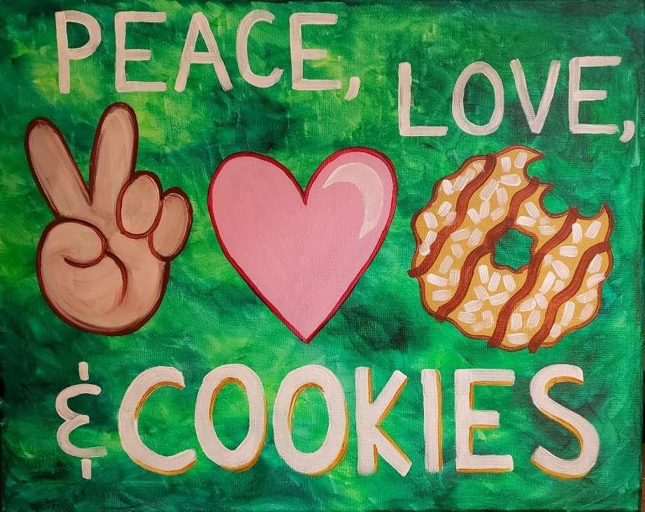 Peace, Love, & Cookies