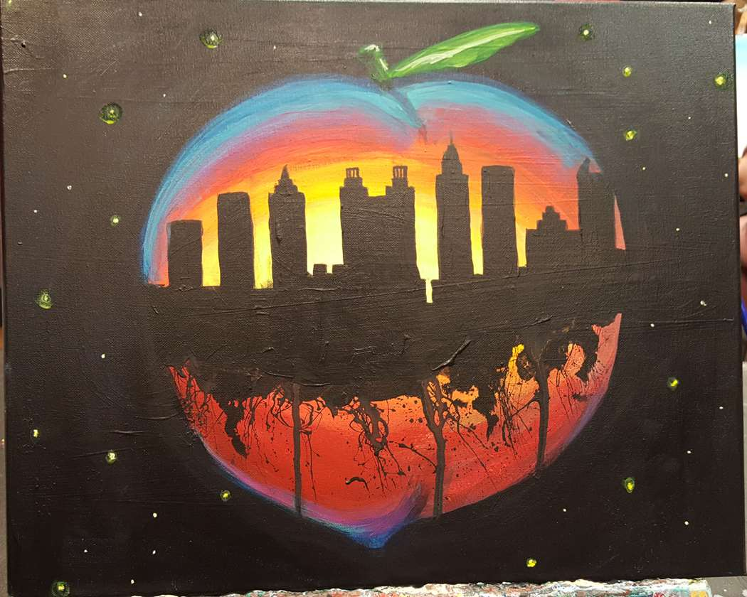 Peach City Sunrise