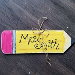 Pencil Door Hanger