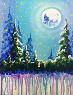 Periwinkle Moon