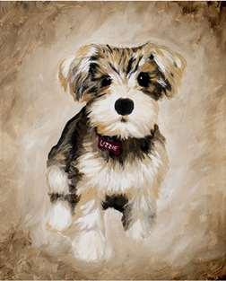 Pet Portrait: Small or Large Canvas