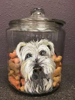Pet Treat Jar