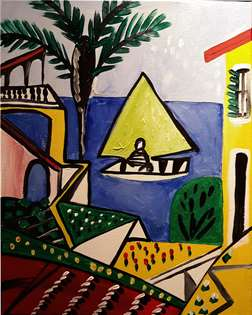 Picasso on the Mediterranean