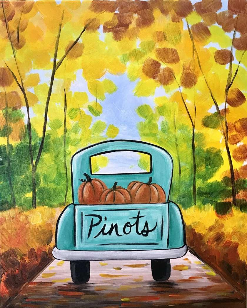 In Studio Event - Picking Perfect Pumpkins
