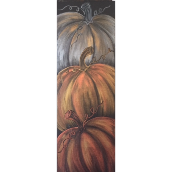 IN STUDIO CLASS: PILE OF PUMPKINS - LIMITED SEATING