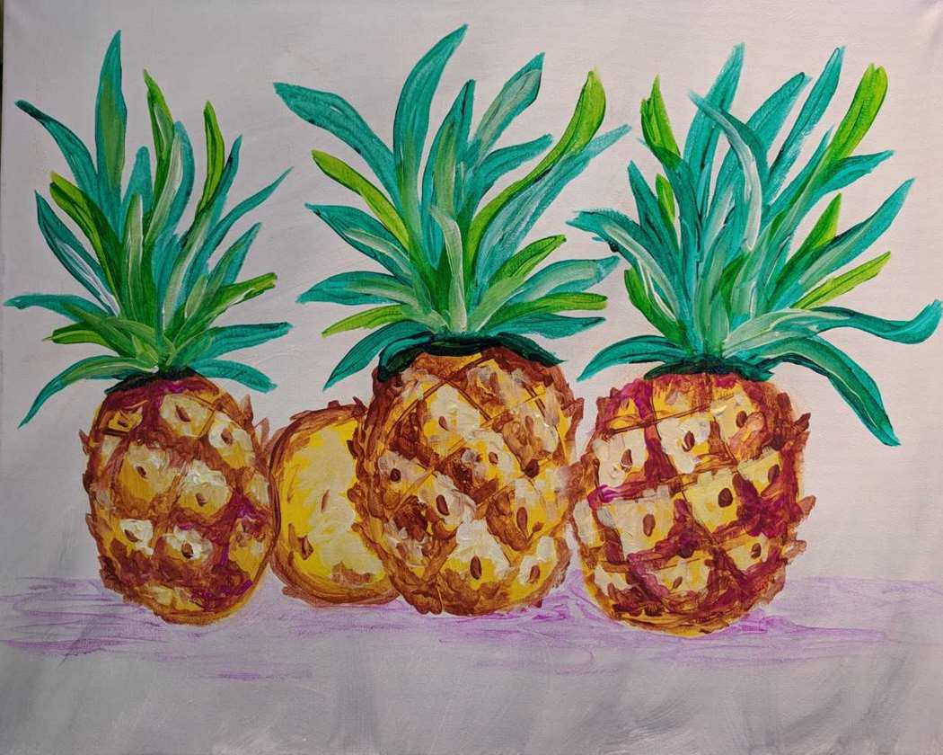 Pineapple Trio