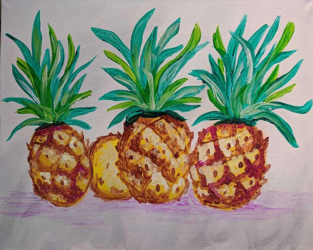 New Painting  - Pineapple Trio - Live In-Studio Event