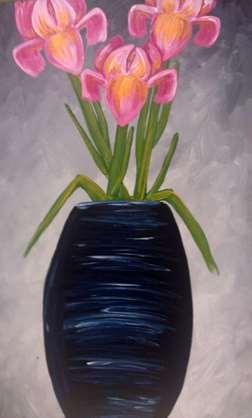 Pink Irises
