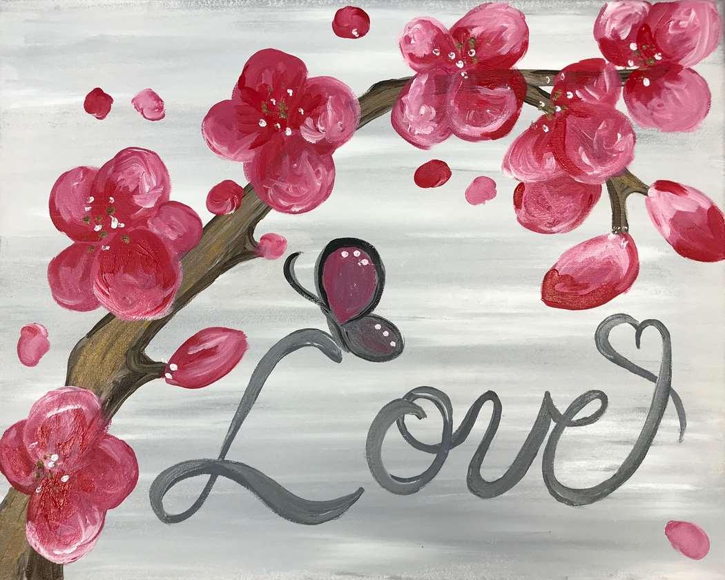Pink Love Blooms