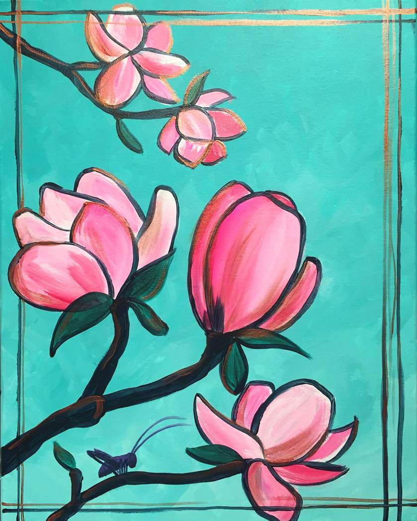Pink Magnolias - In Studio Event - Limited Seating Available