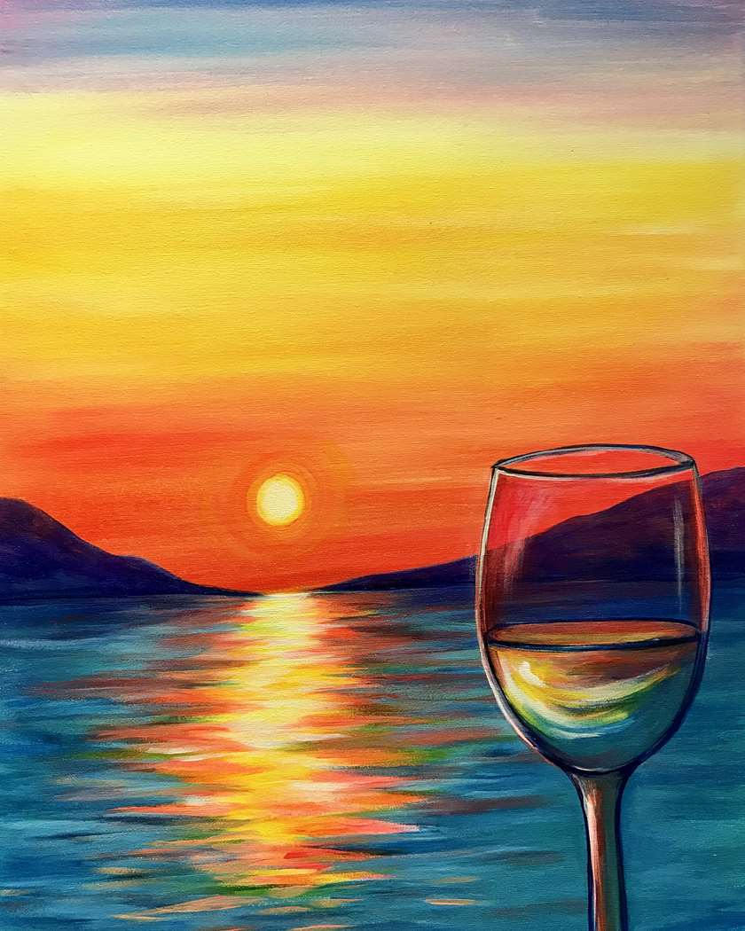Pinot in Paradise - In Studio Event - Limited Seating Available