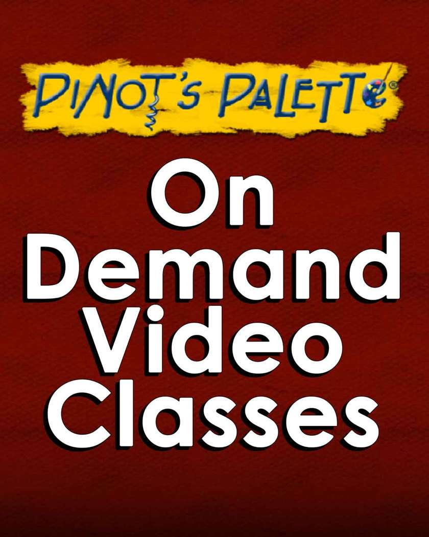 VIRTUAL CLASS - PINOT'S ON DEMAND. This class will not be held in the studio