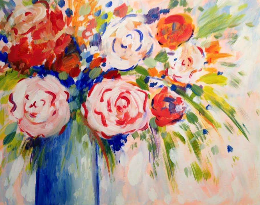 In-Studio event - Pinot's Poppin' Peonies- limited seating