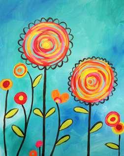 Pinwheel Blooms