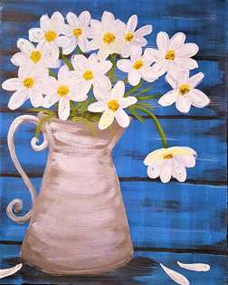 Pitcher of Daisies