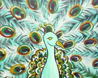 Platinum Peacock