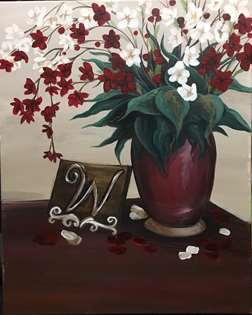 Plum Blossom Monogram