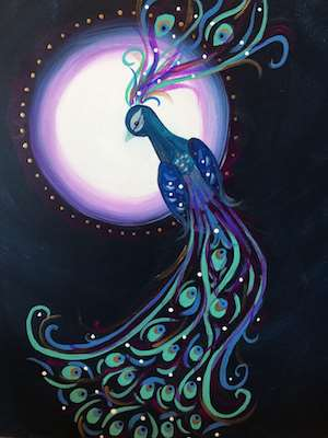 Plume and Moon