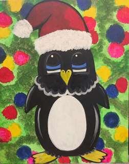 Polka Dot Penguin