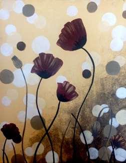 Polka Dot Poppies