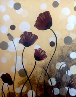 Polka Dot Poppies
