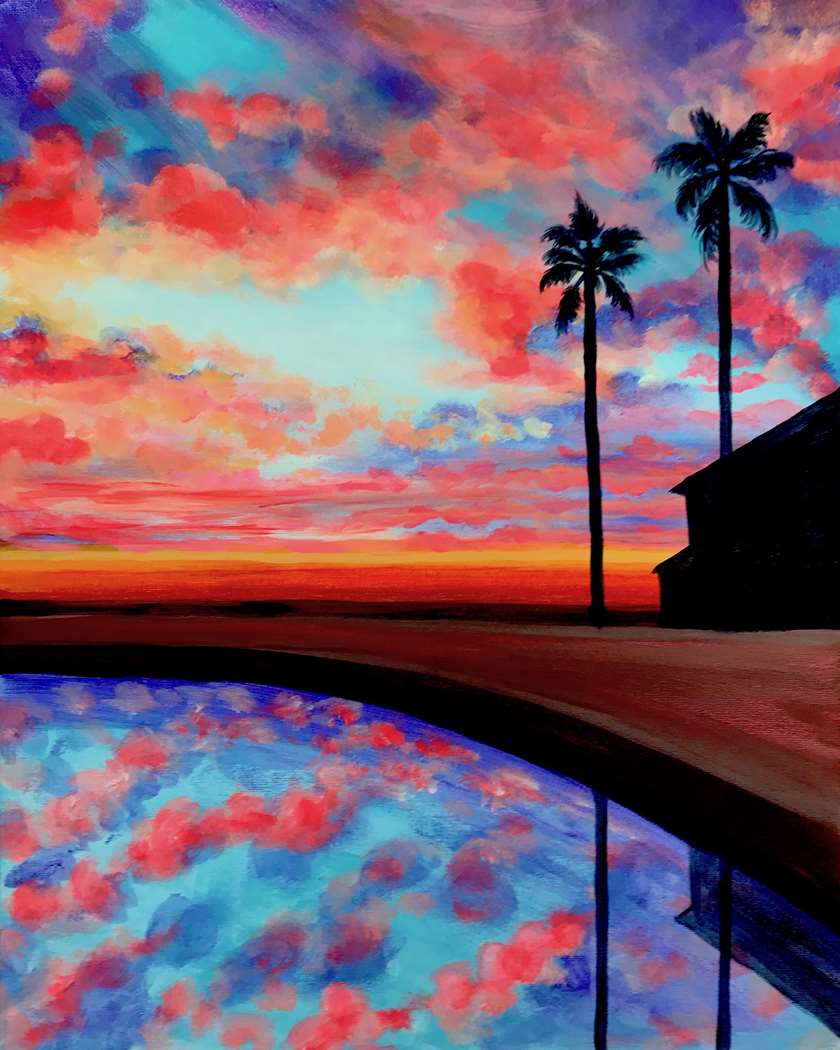 Poolside Paradise