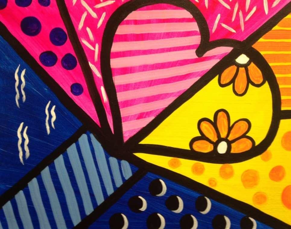 Pop Art Love