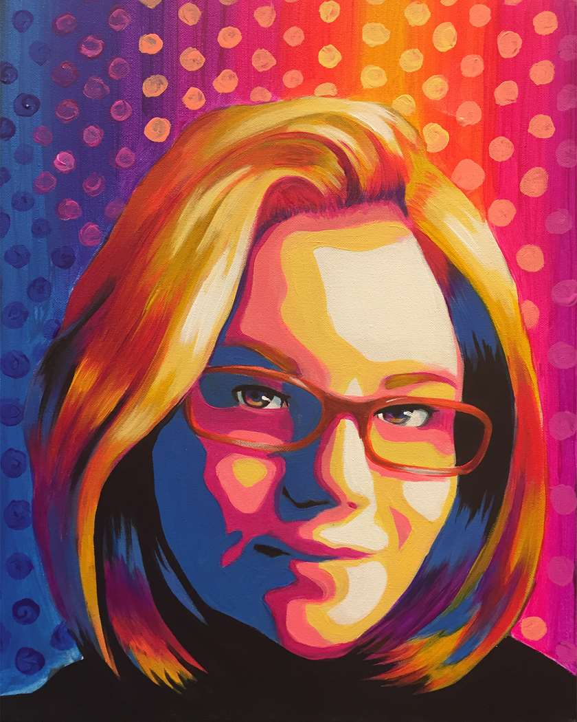 Pop Art Selfie. Last day to sign up is Sunday 11/22.