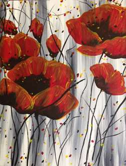 Poppies on Parade