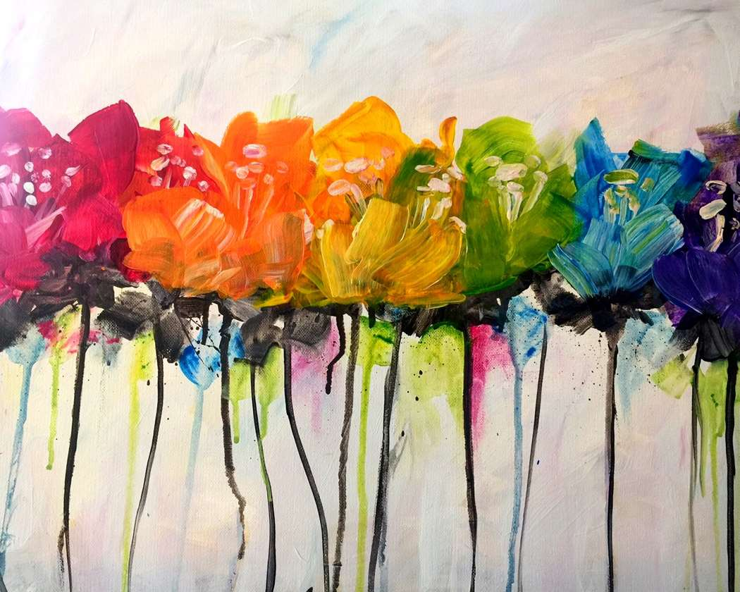 In-Studio Event / One Hour Happy Hour Painting!