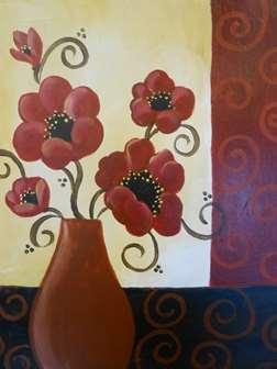 Poppy Swirls