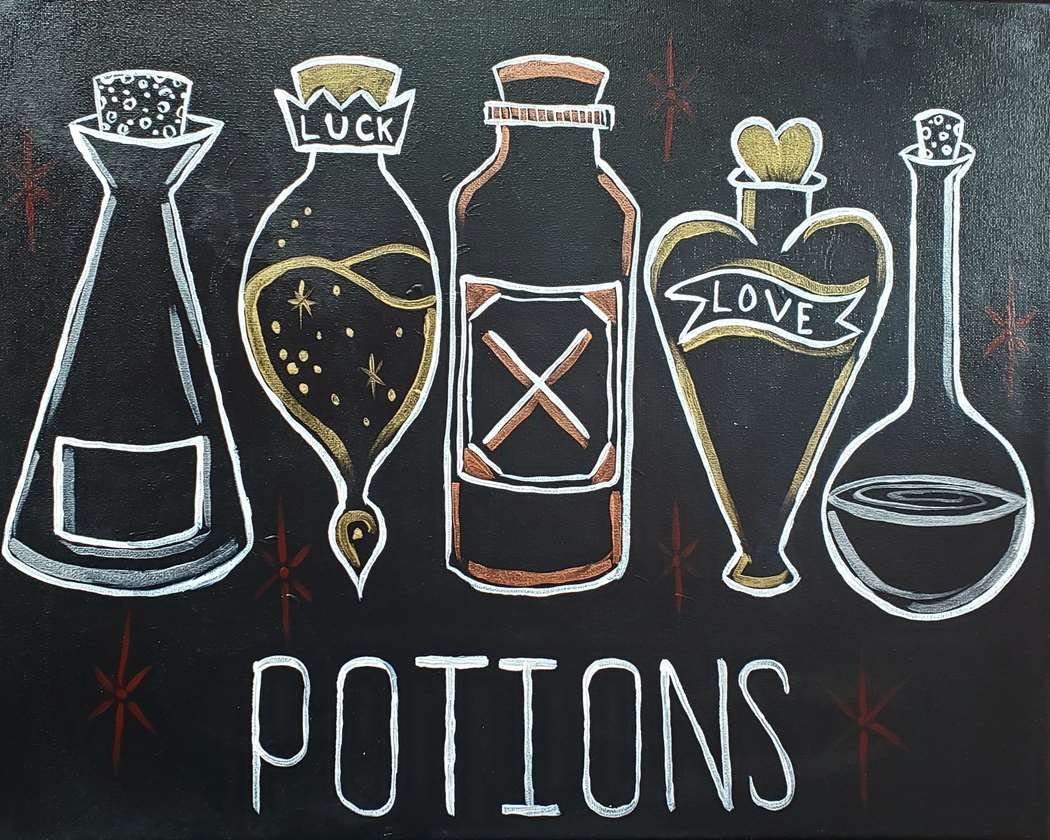 IN-STUDIO EVENT- HP's Birthday. Potions
